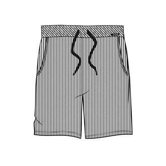 skiny sloungewear férfi short rövidnadrág
